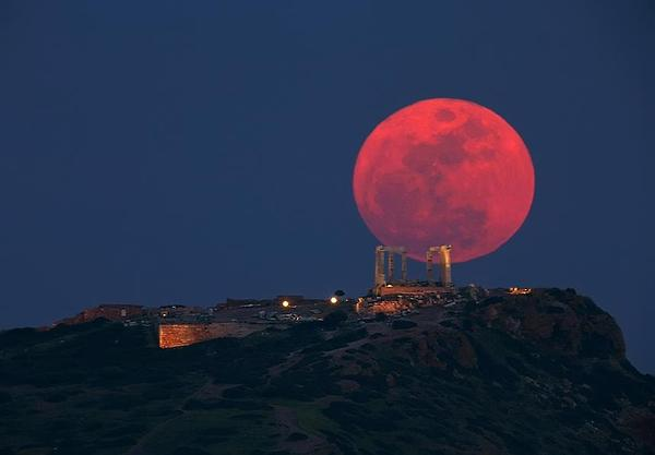 Image result for bloody full moon
