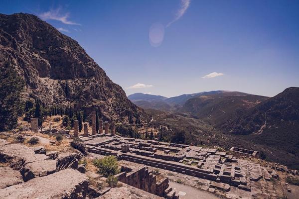 Ancient Delphi, Greece